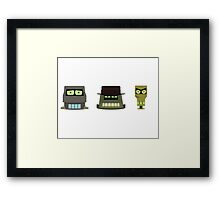 The Robot Mafia Framed Print