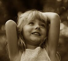 Happy Child by Michael  Herrfurth
