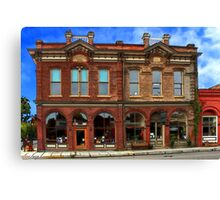 Redmens Hall - Jacksonville Oregon Canvas Print