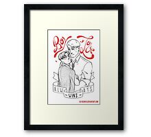 Eruri - Boys Love Always Win Framed Print