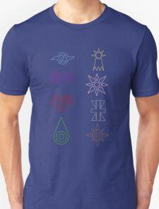 Crest Zip up T-Shirt