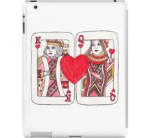 King and Queen of Hearts iPad Case/Skin