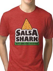 Salsa Shark! Tri-blend T-Shirt