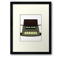 The Donbot Framed Print
