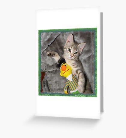 Jessica and Bert Greeting Card