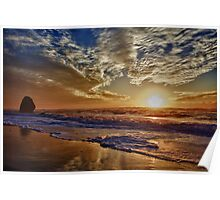 Kissing Rock Sunset 1 Poster