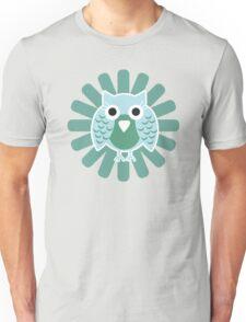 Baby Owl Blue Unisex T-Shirt