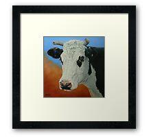 Dust Storm (Portrait Of Pet) Framed Print