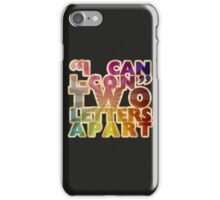 I Can & I-Con iPhone Case/Skin