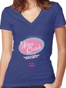 Regals Hairspray - Ultra Clutch Women's Fitted V-Neck T-Shirt