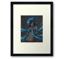 Halos'series : #8 The Sea Framed Print
