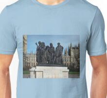 The Burghers Of Calais, in London, by Rodin Unisex T-Shirt
