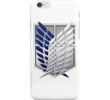 L'Attaque des Titans - Shingeki no Kyojin - Survey Corps - Attack On Titan iPhone Case/Skin
