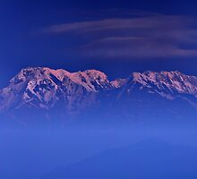 Annapurna One by Peter Hammer