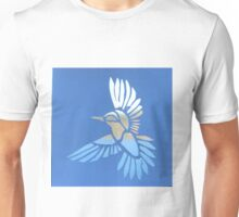 Blurred Bird Landscape Unisex T-Shirt