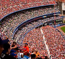 Mets v Milwaukee Brewers, Shea Stadium, 2007 by Chris Westinghouse