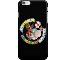 Super Jurassic Galaxy Gaming Adventure Mashup iPhone Case/Skin