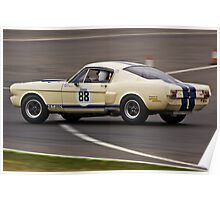 Ford Shelby Mustang GT350 Poster