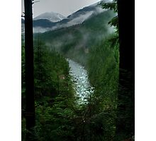 Gold Creek Lookout HDR Photographic Print