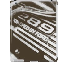 The heart of a Mustang iPad Case/Skin