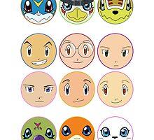Digimon Adventure 02 by Decokun