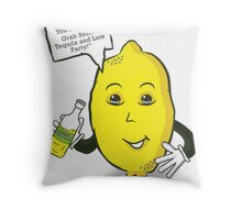 """""""When Life Gives You Lemons..."""" Throw Pillow"""
