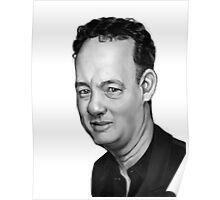 Tom Hanks Caricature Poster