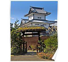 Kanazawa Castle, Japan.   Poster