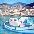 Hydra Island, Greece by Teresa Dominici