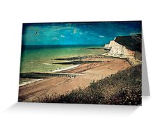 Greetings From Saltdean, We Wish You Were Here! Greeting Card