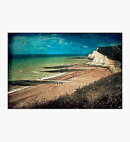 Greetings From Saltdean, We Wish You Were Here! Photographic Print