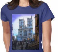 Westminster Abbey, London, England Womens Fitted T-Shirt