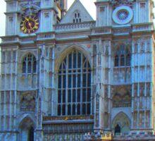Westminster Abbey, London, England Sticker