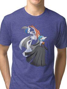 MGallade & MGardevoir Shiny Tri-blend T-Shirt