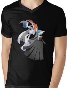 MGallade & MGardevoir Shiny Mens V-Neck T-Shirt