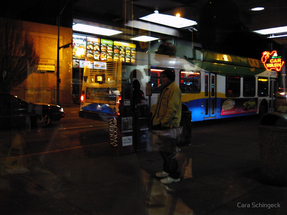 Reflections of Urban Street Life 134 by Cara Schingeck