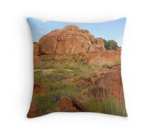 Devils Marbles Throw Pillow