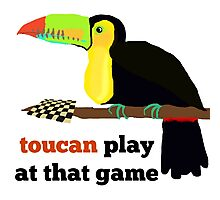 toucan play at that game! Photographic Print