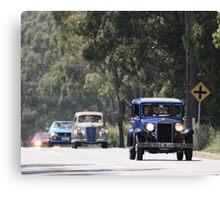 Lancia Christmas Rally Canvas Print