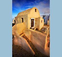 On top of Pyrgos village, Santorini island T-Shirt