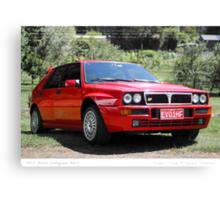 Lancia Delta Integrale Evo 1 Canvas Print