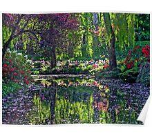 Butchart Gardens in Springtime Poster