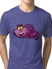Cheshire Space Cat Tri-blend T-Shirt