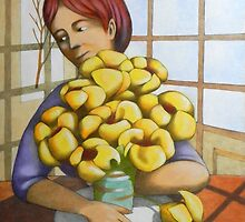 the yellow flowers by federico cortese