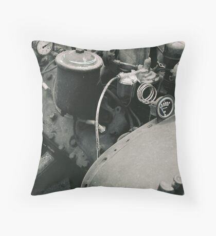 engine Throw Pillow