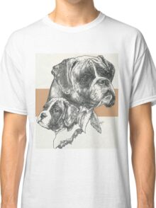 Boxer, uncropped, Father & Son Classic T-Shirt