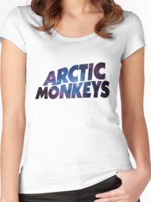 Arctic Nebula Monkeys Women's Fitted Scoop T-Shirt