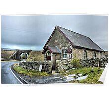 Hawes Methodist Chapel- Cumbria  Poster