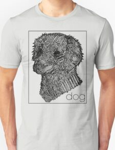 Dog Sketch Unisex T-Shirt