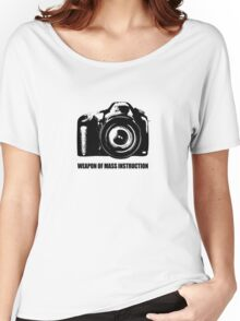 weapon of mass instruction Women's Relaxed Fit T-Shirt